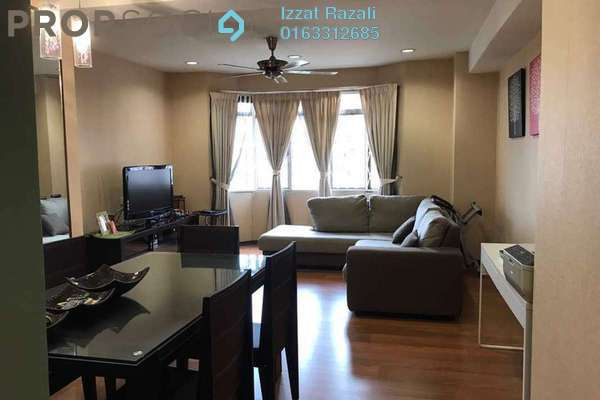 For Sale Condominium at Kelana Puteri, Kelana Jaya Freehold Fully Furnished 3R/2B 420k