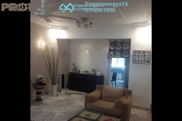 For Sale Terrace at Taman Mastiara, Jalan Ipoh Freehold Semi Furnished 4R/3B 850k