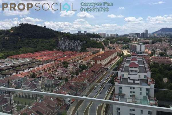 For Rent Condominium at Scenaria, Segambut Freehold Semi Furnished 3R/2B 2.1k