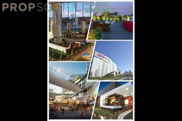 For Sale Condominium at Cempaka 1, Kota Seriemas Freehold Semi Furnished 1R/1B 210k