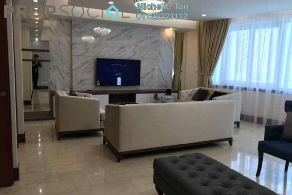 For Rent Condominium at Kirana Residence, KLCC Freehold Fully Furnished 3R/4B 14k