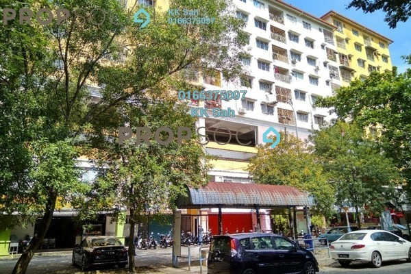 For Rent Condominium at Section 15, Shah Alam Freehold Semi Furnished 3R/2B 1.3k