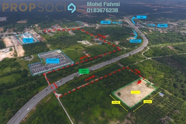 For Sale Land at Cybersouth, Dengkil Leasehold Unfurnished 0R/0B 1.8m