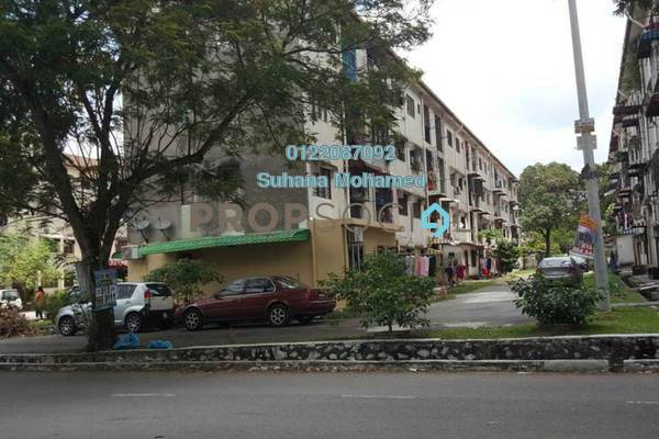 For Sale Apartment at Taman Alam Megah, Shah Alam Freehold Unfurnished 2R/1B 140k