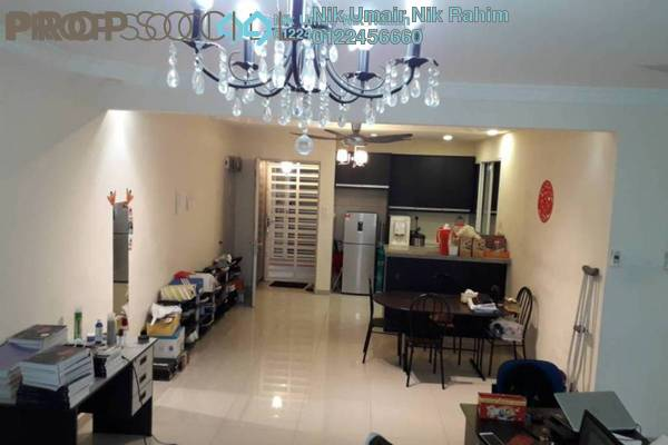 For Sale Condominium at Platinum Lake PV16, Setapak Freehold Semi Furnished 3R/2B 555k