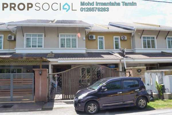 For Sale Terrace at Taman Suria Tropika, Bandar Putra Permai Freehold Semi Furnished 4R/3B 630k