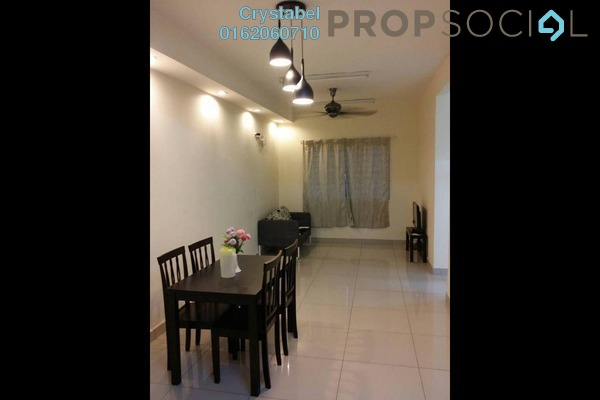 For Rent Apartment at Putra Suria Residence, Bandar Sri Permaisuri Freehold Fully Furnished 3R/2B 1.65k