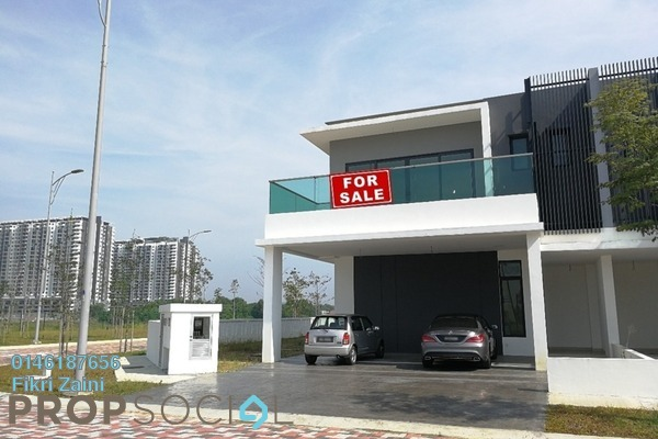 For Sale Semi-Detached at Corallia @ D'Island, Puchong Leasehold Unfurnished 6R/6B 2.05m