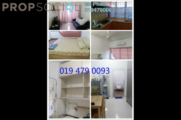 For Rent Condominium at Sri Bukit Jambul, Bukit Jambul Freehold Fully Furnished 3R/2B 1.05k