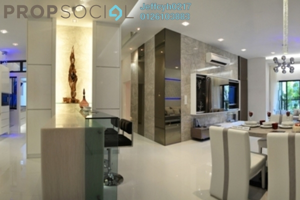 For Sale Condominium at SkySierra, Setiawangsa Leasehold Semi Furnished 3R/3B 497k