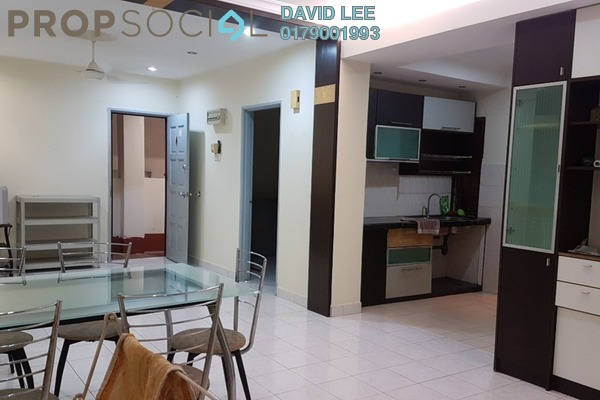 For Rent Condominium at Pelangi Damansara, Bandar Utama Freehold Fully Furnished 3R/2B 1.4k