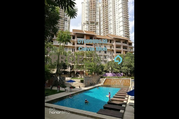 For Sale Condominium at Seri Maya, Setiawangsa Freehold Semi Furnished 3R/2B 680k