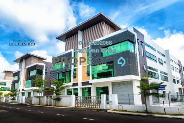 For Rent Factory at i-Seasons Park, Ulu Tiram Freehold Unfurnished 0R/0B 8.22k