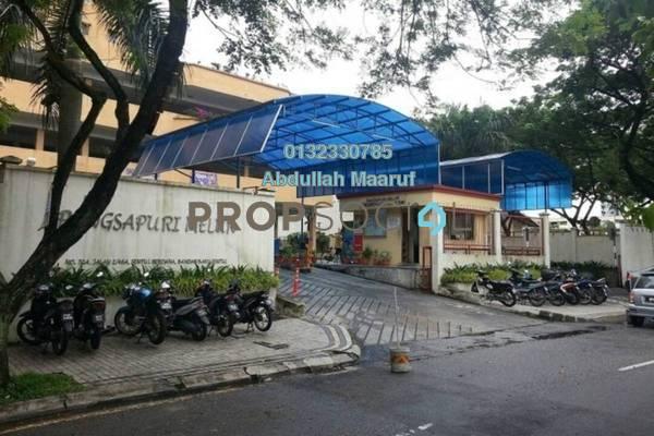 For Sale Condominium at Melur Apartment, Sentul Freehold Semi Furnished 3R/2B 390k