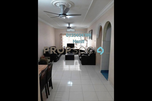 For Sale Apartment at Melur Apartment, Sentul Leasehold Semi Furnished 3R/2B 390k