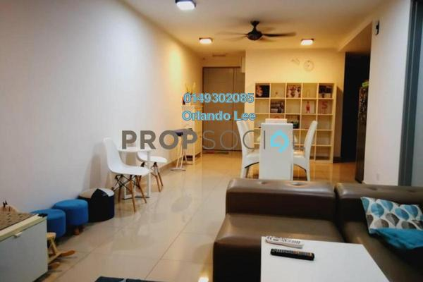 For Rent Condominium at Suasana Lumayan, Bandar Sri Permaisuri Freehold Semi Furnished 3R/2B 1.6k