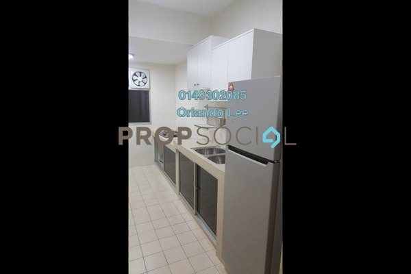 For Rent Condominium at Cengal Condominium, Bandar Sri Permaisuri Freehold Semi Furnished 3R/2B 1.4k