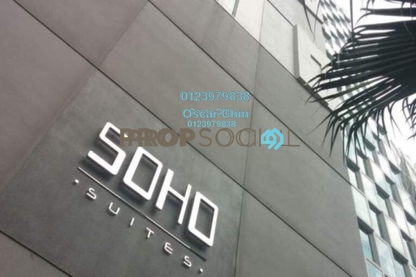 For Sale Condominium at Soho Suites, KLCC Freehold Fully Furnished 2R/2B 979k