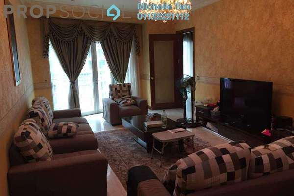 For Rent Condominium at Kirana Residence, KLCC Freehold Fully Furnished 4R/5B 13k