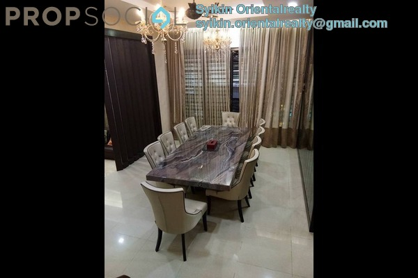 For Sale Semi-Detached at Jelutong Heights, Bukit Jelutong Freehold Fully Furnished 6R/4B 2.35m