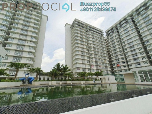 For Sale Serviced Residence at M3 Residency, Gombak Freehold Unfurnished 3R/2B 460k