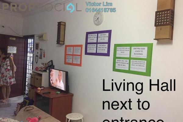 For Rent Apartment at Kesuma Apartment, Bandar Kinrara Freehold Semi Furnished 3R/2B 1.2k