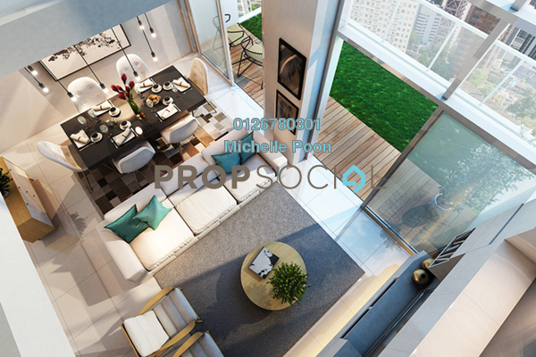 For Sale Condominium at The Robertson, Pudu Freehold Semi Furnished 3R/2B 1.7m