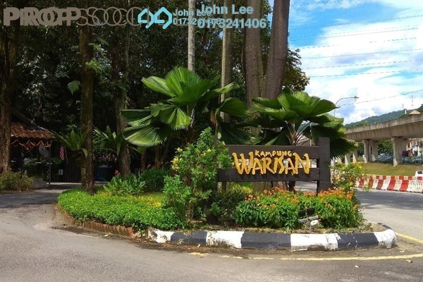For Sale Apartment at Kampung Warisan, Setiawangsa Freehold Semi Furnished 4R/2B 980k