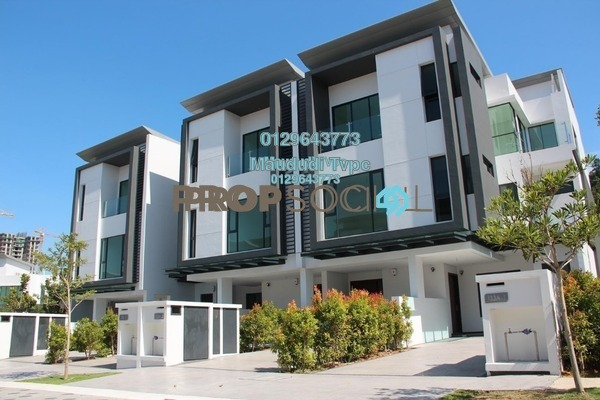 For Sale Townhouse at Sunway Montana, Melawati Freehold Semi Furnished 4R/4B 1.65m