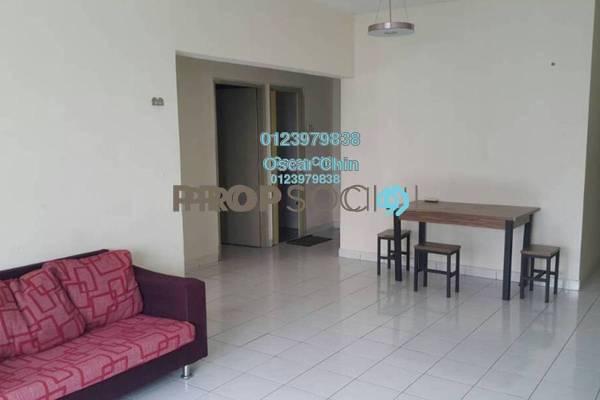 For Rent Condominium at Endah Ria, Sri Petaling Freehold Fully Furnished 3R/2B 1.6k