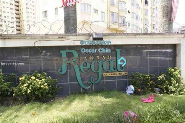 For Sale Condominium at Endah Regal, Sri Petaling Leasehold Semi Furnished 3R/2B 378k