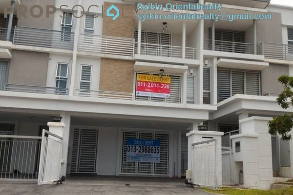 For Sale Terrace at Sunway Alam Suria, Shah Alam Freehold Semi Furnished 5R/4B 830k