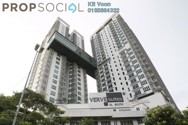 For Sale Condominium at VERVE Suites, Old Klang Road Freehold Fully Furnished 3R/2B 750k