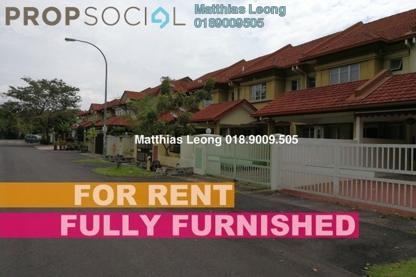 For Rent Terrace at Section 10, Putra Heights Freehold Fully Furnished 2R/0B 1.7k
