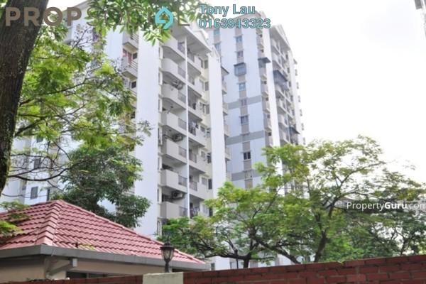 For Rent Condominium at Miharja Condominium, Cheras Freehold Semi Furnished 3R/2B 1.6k