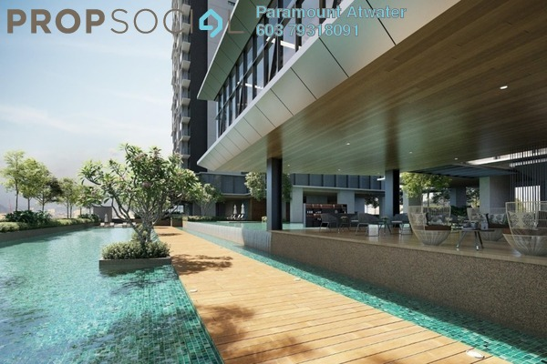 For Sale Serviced Residence at Atwater, Petaling Jaya Leasehold Unfurnished 2R/1B 590k