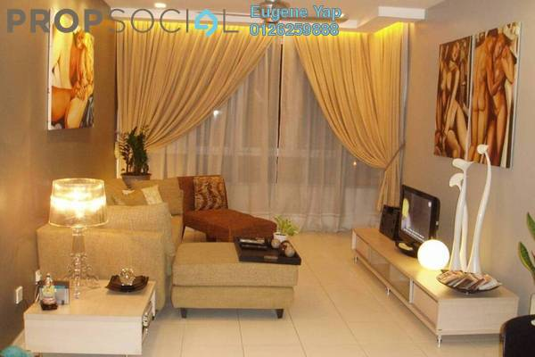 For Rent Condominium at The Tamarind, Sentul Freehold Fully Furnished 3R/2B 2.3k