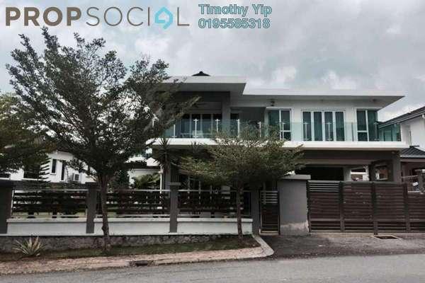 For Sale Bungalow at Saujana Villa, Kajang Freehold Fully Furnished 7R/7B 1.99m