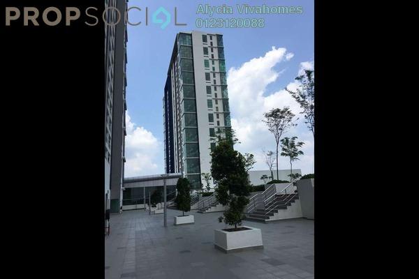 For Rent SoHo/Studio at EVO Soho Suites, Bandar Baru Bangi Freehold Fully Furnished 0R/1B 1.2k