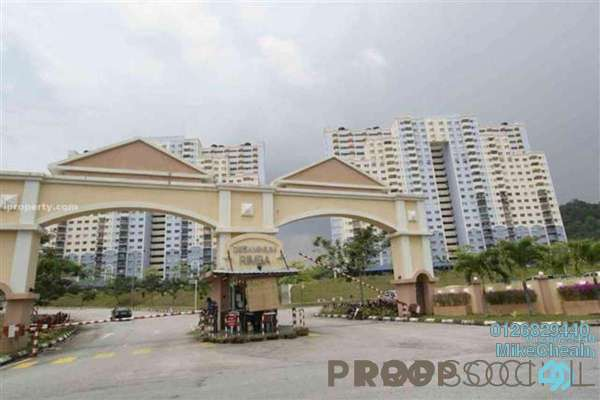 For Rent Condominium at Desaminium Rimba, Bandar Putra Permai Freehold Unfurnished 3R/2B 1.5k