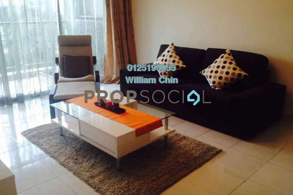 For Rent Condominium at Kiara Designer Suites, Mont Kiara Freehold Semi Furnished 3R/2B 3.2k