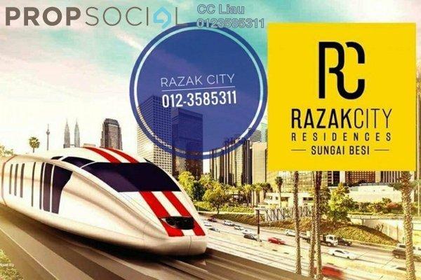 For Sale Serviced Residence at Razak City Residences, Sungai Besi Freehold Fully Furnished 2R/2B 380k