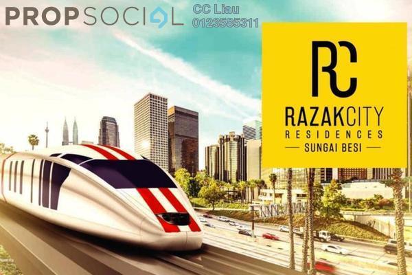 For Sale Serviced Residence at Razak City Residences, Sungai Besi Leasehold Fully Furnished 2R/2B 389k