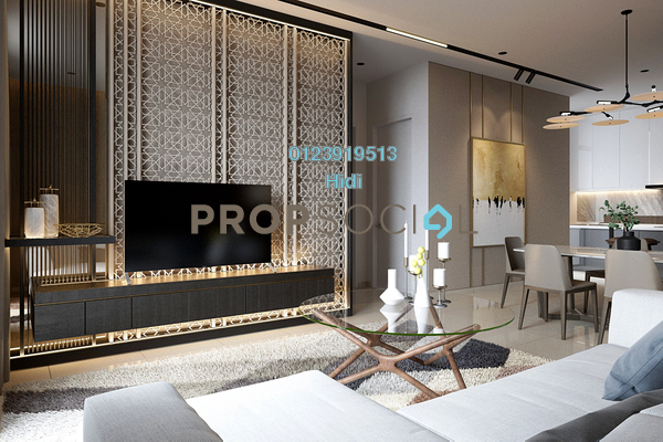 For Sale Serviced Residence at Section 13, Petaling Jaya Leasehold Fully Furnished 1R/1B 572k