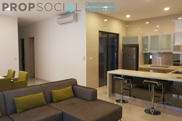 For Rent Condominium at Mirage Residence, KLCC Freehold Fully Furnished 3R/2B 5k