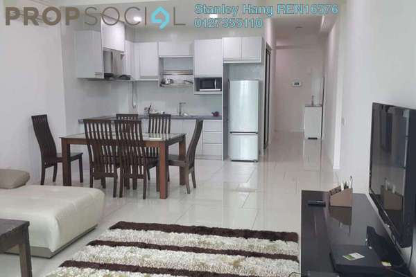 For Rent Condominium at The Treez, Bukit Jalil Freehold Fully Furnished 3R/3B 3k