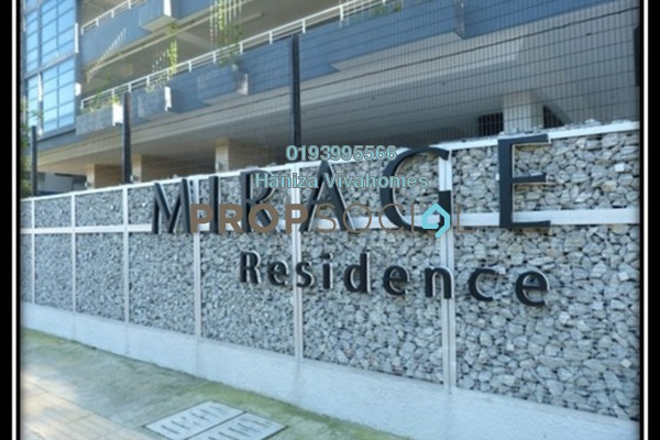 For Sale Condominium at Mirage Residence, KLCC Freehold Fully Furnished 3R/2B 2.21m