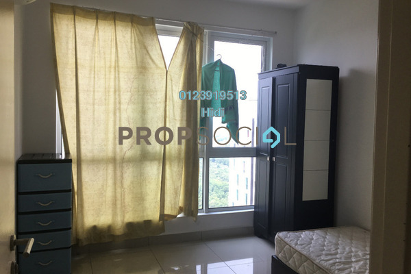 For Rent Serviced Residence at De Centrum Residences, Kajang Freehold Semi Furnished 1R/1B 1.4k