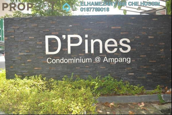 For Sale Condominium at D'Pines, Pandan Indah Freehold Semi Furnished 3R/2B 585k