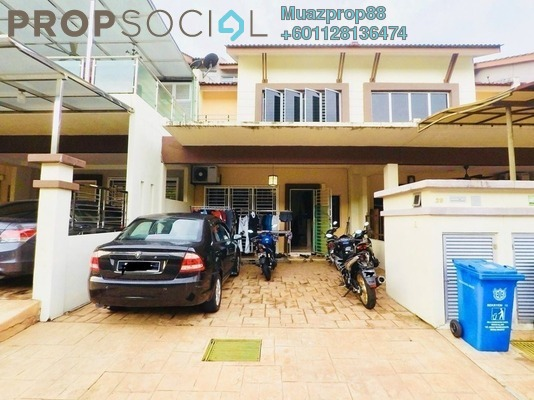 For Sale Terrace at Alam d'16, Shah Alam Freehold Semi Furnished 4R/3B 600k